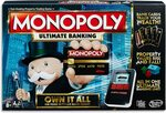 Monopoly Ultimate Banking - Electronic with Chip Cards $29 (Was $49) + Delivery (Free with Prime / $39 Spend) @ Amazon AU