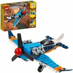 LEGO Creator 3in1 Propeller Plane 31099 Flying Toy Building Kit $9 + Shipping ($0 with Prime / $39 Spend) @ Amazon