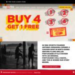 Buy 4 Rappas & Get 1 Free + $5 Flame Rewards Voucher @ Oporto (Flame Rewards)