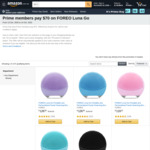 [Prime] FOREO Luna Go $70, FOREO Luna Play $35 Delivered @ Amazon AU