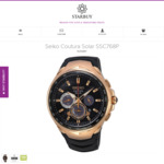 Seiko Coutura Solar SSC768P for $399 delivered (RRP $750) @ Starbuy
