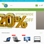 20% off Storewide on Computers (Min $299 Spend) + Free Shipping @ Reborn Electronics AU