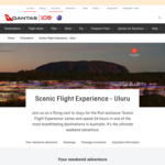 "Once-off Qantas ""Flight to Somewhere"" Scenic Flight & Stay at Uluru /Ayer's Rock ""Sails in The Desert"" fr $2449pp @ Qantas.com"