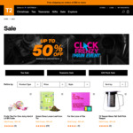 T2 Click Frenzy (up to 50% off Selected Items)