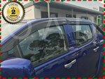 Weather Shields/Window Visors for D-MAX, Navara D22, NP300, Ranger, Triton Dual Cab Models $49/Set Delivered @ Orientalautodecor