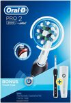 Oral-B Pro 2 2000 Black Electric Toothbrush & Travel Case $55 Delivered @ Amazon AU