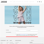 Win 1 of 5 $1,000 Activewear Gift Cards from Jaggad