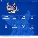 Discounted 2021 North Melbourne Football Club Memberships - 11 Home Games $99 (Originally $230) @ Ticketmaster