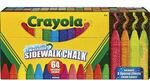 Crayola Washable Sidewalk Chalk 64 Pack $9.99 C&C/ in-Store Only @ Officeworks
