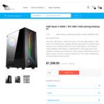 Ryzen 5 3500X | RTX 3060 12GB Gaming PC [B550M Gaming/16GB 3200/250NVME/650B]: $1298 + Delivery @ TechFast