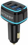 Blitzwolf BW-SD7 80W 3-Port USB PD Car Charger Adapter for $US11.99 (~$A15.74) Delivered @ Banggood AU