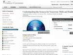 """""""Understanding the Science for Tomorrow: Myth & Reality"""" (RRP US $245) by download USD $60"""
