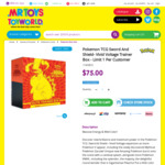 Pokemon TCG Sword and Shield - Vivid Voltage Trainer Box $75 Delivered @ Mr Toys
