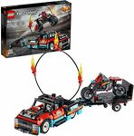 LEGO Technic Stunt Show Truck & Bike 42106: Includes Stunt Motorcycle, Toy Truck and Trailer $39 Delivered @ Amazon AU