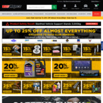 15% off Spare Parts, 20% off Engine Oil & Audio, 25% off Tools, Globes, Car Care + More @ Repco (Auto Club Membership Required)