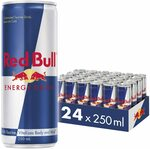 Red Bull Energy Drink: 24x250ml $33.90 ($30.51 S&S) + Delivery ($0 with Prime/ $39 Spend) @ Amazon AU