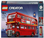 [Pre Order] LEGO Creator Expert London Bus (10258) US$104.99 (~A$136.25) + US$2 Delivery @ Zavvi US