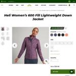 Heli Women's 600 Fill Lightweight down Jacket $99.98 Delivered @ Kathmandu