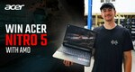 Win Acer Nitro 5 with BQR Gaming Laptop