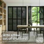 Win a Set of Shutters (Worth up to $500) from Blinds Online