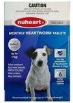 NuHeart Dog Heartworm Tablets (December 2021 Short Dated) $2.95 (Was $16.95) Delivered @ iPetStore