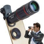 Apexel 18X Phone Camera Lens $14.49 (50% off) + Shipping ($0 with Prime/ $39 Spend) @ Aipai Optic via Amazon AU