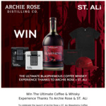 Win The Ultimate Coffee & Whisky Experience Worth $2,832 from Archie Rose & ST. ALi