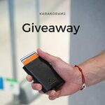 Win a Karakoram2 Smart Slide Modern Leather Wallet from Karakoram2