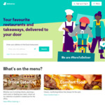 [QLD] Free Brisbane Delivery with $10 Minimum Spend (Participating Restaurants Only) @ Deliveroo
