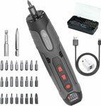 AUSELECT Electric Cordless Power Screwdriver $29.99 Shipped, 57in1 Precision Screwdriver Set $16.09 + Del @ AU SELECT Amazon AU