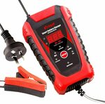 Katbo 6 Amp Smart Battery Charger 6V 12V Automatic and Manual (Red) $22.94 + Delivery ($0 with Prime) @ Katbo via Amazon AU