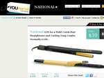 $39 for a Wahl Cutek Hair Straightener and Curling Tong Combo. Normally $109