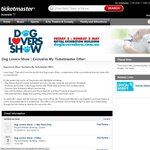 Dog Lovers Show Melbourne (50% off)