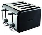 KENWOOD kMix 2-Slice Toaster Black/Orange $25, 4-Slice Black $49 after Cashback (FREE Shipping)