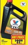 Valvoline XLD Premium 15w40  4L -$11.99 at Repco