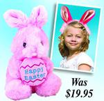 Plush Easter Bunny + Plush Bunny Ears Adjustable Headband $9.99 - Free Shipping @ Goods Galaxy