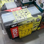 Ryobi One+ 18V 10 Piece Kit Reduced to $599 (Was $899) @ Bunnings, Notting Hill VIC
