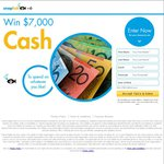 Win $7,000 Cash or a Holiday to The Value of $7,000