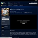 Grand Theft Auto V for PS3 - $44.95 @ PSN Store (AU)