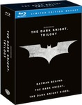 The Dark Knight Trilogy Blu Ray Collection $25.90 from Zavvi Incl Shipping