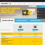 $0 Annual Fee for 1st Year on All Personal Credit Cards - Commbank