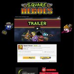 Buy Square Heroes $10 (Fun New Multiplayer PC Game) GET ONE FREE