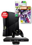 NEW 250GB Xbox 360 + Kinect Console + 2 Games - $219 + Delivery @ EB Games