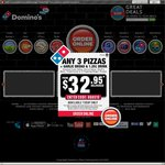 Domino's Pizza - 50% off Traditional & Chef's Best, Pickup Only