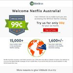 Unblock US: Netflix US $0.99 for First Month (US $4.99 Thereafter) - Access All Netflix Regions
