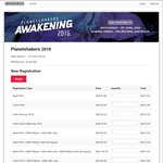 Planetshakers Awakening 2016 Registration $20 - Hisense Arena, Melbourne