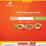 Delivery Hero - $13 off, Min $20 Spend (Mobile App Only)