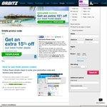 Orbitz Hotel Booking 15% off Selected