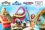 [QLD] Movie World, Sea World, Wet N Wild and Paradise Country Unlimited Pass till 30/6/2016 - $89.99 @ Scoopon