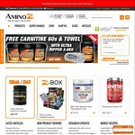 Fitness Supplements Short Dated Sale $9.95 + Shipping - Amino Z